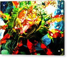 Paul Acrylic Print by HollyWood Creation By linda zanini