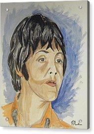 Paul Acrylic Print by Joseph Papale