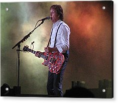 Paul Mccartney At Citi Field Acrylic Print