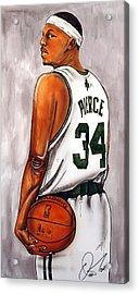 Paul Pierce - The Truth Acrylic Print by Dave Olsen