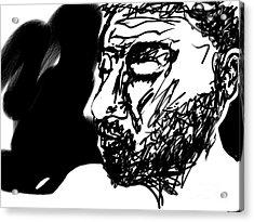 Paul Ramnora Self-portrait Acrylic Print
