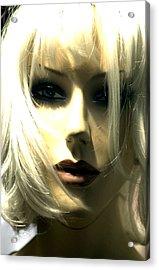 Paula Acrylic Print by Jez C Self