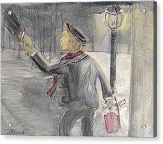 Pauley's Present Acrylic Print by Jessica Mason