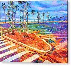 Paved Paradise Acrylic Print by Bonnie Lambert