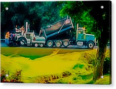 Paving Crew 2 Acrylic Print