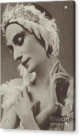 Pavlova In The Dying Swan Acrylic Print