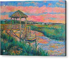 Pawleys Island Atmosphere Stage Two Acrylic Print