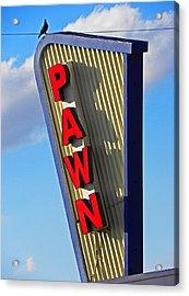 Pawn It Acrylic Print