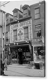 Pawn Shop, Photograph, 1900s-1930s Acrylic Print by Everett