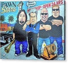 Pawn Stars In Las Vegas Acrylic Print