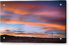 Acrylic Print featuring the photograph Pawnee Sunset by Monte Stevens