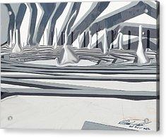 Pawns Acrylic Print