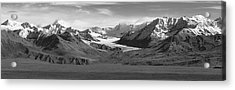 Paxson Glacier Wide Acrylic Print