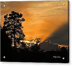 Payson Sunset Acrylic Print