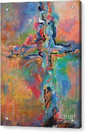 Peace Accord Acrylic Print by Deb Magelssen