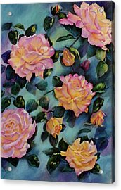 Acrylic Print featuring the painting Peace by Ann Peck