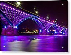 Peace Bridge Led Acrylic Print
