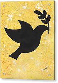 Peace Dove Acrylic Print