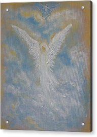 Peace From An Angel  Acrylic Print
