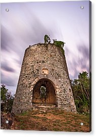 Acrylic Print featuring the photograph Peace Hill Sugar Mill by Adam Romanowicz