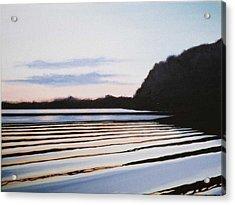 Peace Acrylic Print by Hunter Jay
