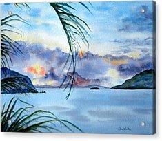 Peace In The Caribbean Acrylic Print