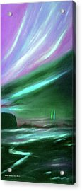 Peace Is Colorful 2 - Vertical Painting Acrylic Print