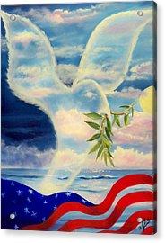 Peace Acrylic Print by Joni McPherson