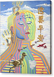 Peace On Earth 1989 Acrylic Print