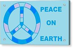 Peace On Earth 3 Acrylic Print