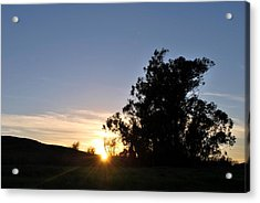 Acrylic Print featuring the photograph Peaceful Country Sunset  by Matt Harang