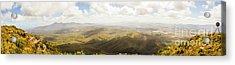 Peaceful Countryside Panorama Acrylic Print