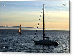 Peaceful Day In Santa Barbara Acrylic Print