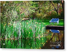Acrylic Print featuring the photograph Peaceful by Donna Bentley