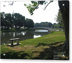 Acrylic Print featuring the photograph Peaceful by Greg Patzer