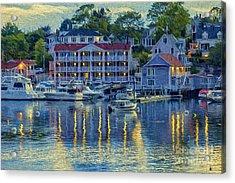 Peaceful Harbor Acrylic Print