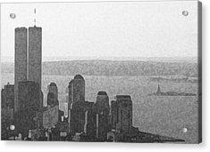 Peaceful Harbor Acrylic Print by Richard Gerken