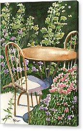 Peaceful Interlude Acrylic Print by Marsha Elliott
