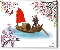 Peaceful Journey Acrylic Print by Glenn Holbrook