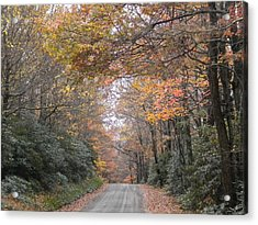 Acrylic Print featuring the photograph Peaceful Journey Home by Diannah Lynch