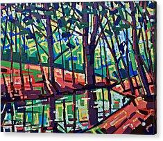 Peaceful Landscape  Acrylic Print