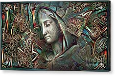 Peaceful Madonna Acrylic Print