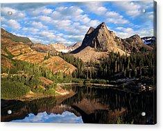 Peaceful Mountain Lake Acrylic Print