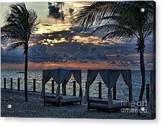 Peaceful Playa Acrylic Print