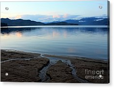 Peaceful Priest Lake Acrylic Print by Carol Groenen