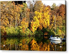 Peaceful Reflections Acrylic Print by Bruce Bley