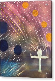 Peaceful  Acrylic Print