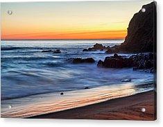 Peaceful Sea Acrylic Print