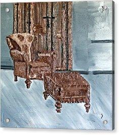Peaceful Seating Acrylic Print