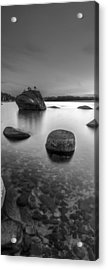 Peaceful Shores Acrylic Print by Brad Scott